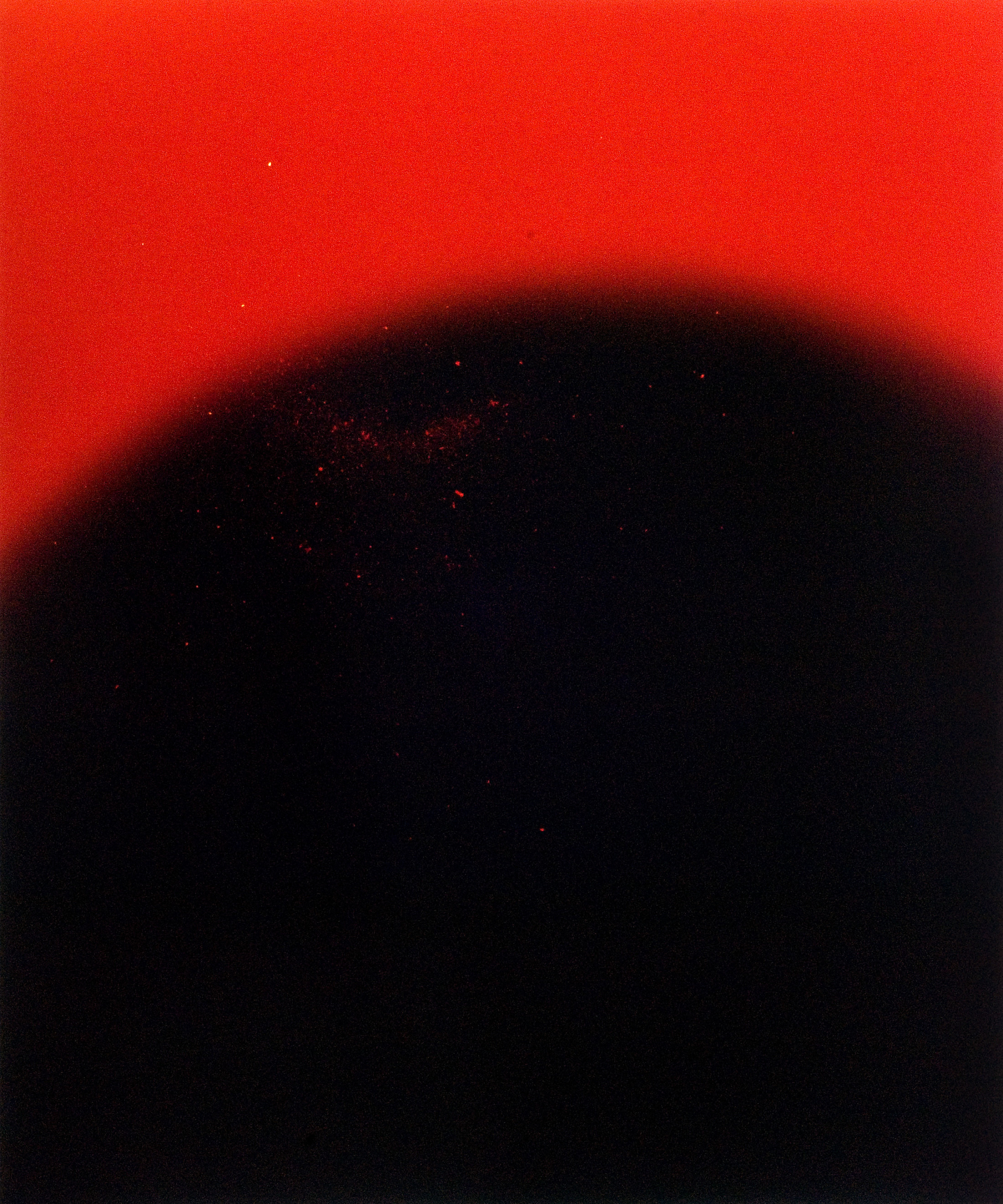 Study #22 ( enlarger turned off, flashlight popped) C-print, 20×24″ 2010