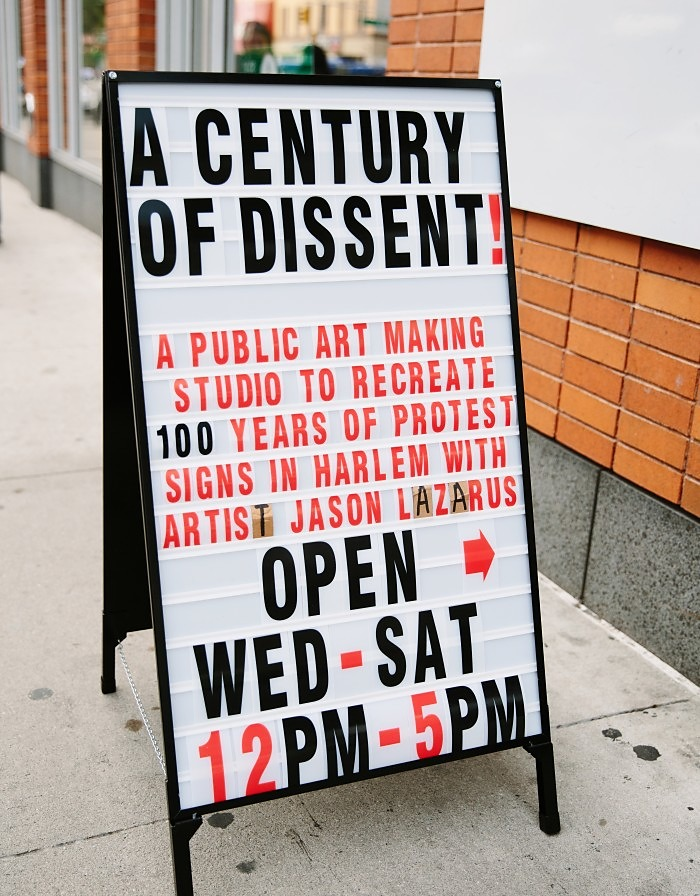 A Century of Dissent: Harlem