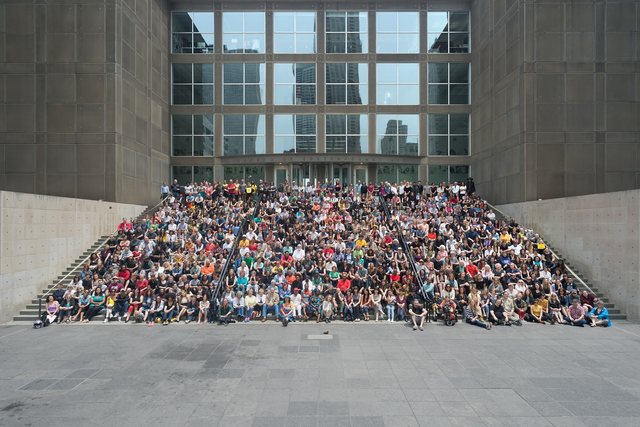 Chicago Artist Group Portrait 2015